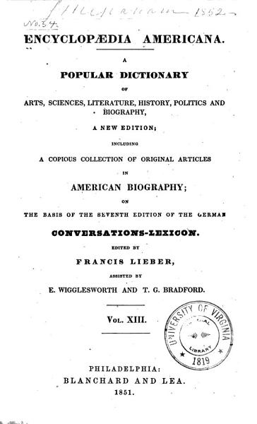 Download Encyclopaedia Americana Book