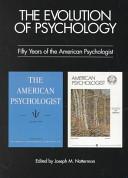 The Evolution of Psychology PDF