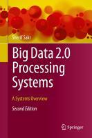 Big Data 2 0 Processing Systems PDF
