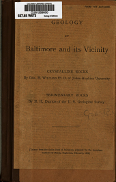 Geology of Baltimore and Its Vicinity: Crystalline Rocks