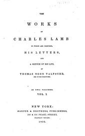 The Works of Charles Lamb: Volume 1