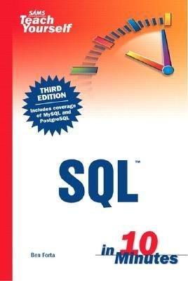 Sams Teach Yourself SQL in 10 Minutes PDF