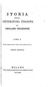 Storia della letteratura italiana: Volume 6,Edizione 1