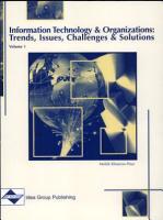 Information Technology and Organizations PDF