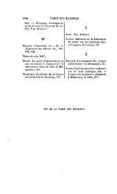 Revue d'hygiène et de médecine préventive: Volume3