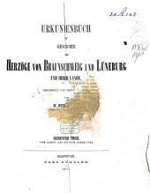 Urkundenbuch zur Geschichte der Herzöge von Braunschweig und Lüneburg und ihrer Lande: Band 11