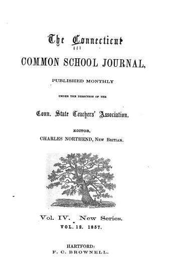 The Connecticut Common School Journal PDF