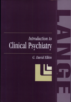 Introduction to Clinical Psychiatry PDF