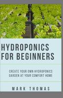Hydroponics for Beginner