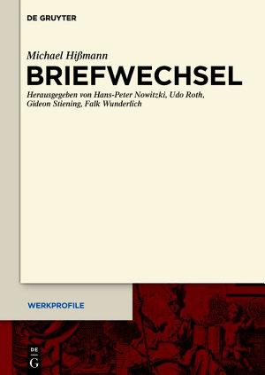 Briefwechsel PDF