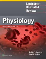 Lippincott   Illustrated Reviews  Physiology PDF