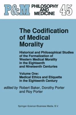 The Codification of Medical Morality PDF