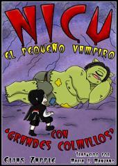 """Nicu - el pequeño vampiro con """"grandes colmillos"""""""