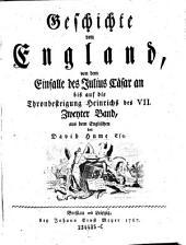 Geschichte von England: Band 2