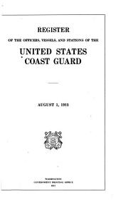 Register of the Officers, Vessels and Stations of the United States Coast Guard