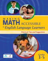 Making Math Accessible to Students With Special Needs  Grades 3 5  PDF
