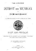History of Detroit and Michigan PDF
