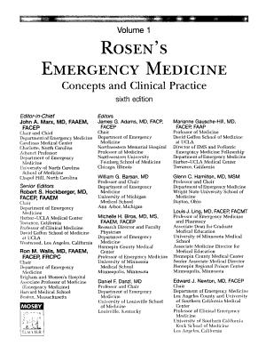 Rosen s Emergency Medicine