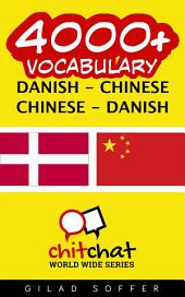 4000+ Danish - Chinese Chinese - Danish Vocabulary