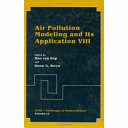Air Pollution Modeling and Its Application VIII