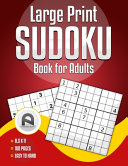 Large Print Sudoku Book for Adults
