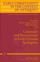 Continuity and Discontinuity in Early Christian Apologetics PDF