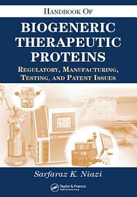 Handbook of Biogeneric Therapeutic Proteins PDF