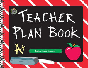 Chalkboard Teacher Plan Book Book