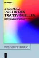 Poetik des Transvisuellen PDF