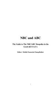 NBC and ABC Book