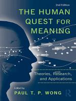 The Human Quest for Meaning PDF