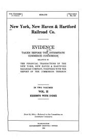 New York, New Haven & Hartford Railroad Co: Volume 2