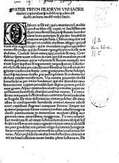 De Vita et miraculis Joannis Gerson, defensio Wymphelingii pro divo Joanne Gerson et clero seculari