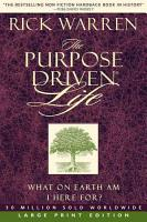 The Purpose driven Life PDF