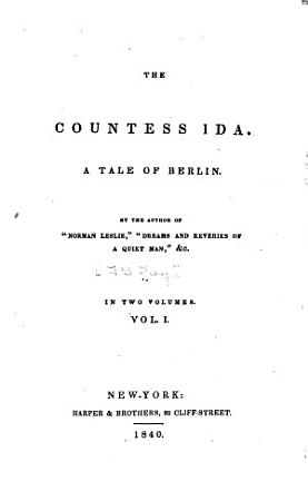 The Countess Ida PDF