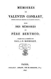 Memoires de Valentin Conrart et du Pere Berthod