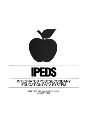 IPEDS  Less than two year institutions
