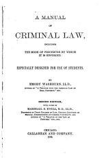 A Manual of Criminal Law PDF