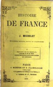 Histoire de France: Volumes5à6