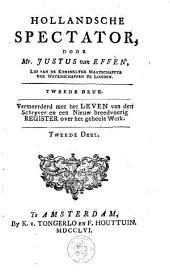 Hollandsche spectator: Volumes 1-2