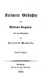 Sämmtliche Gedichte: Kleinere Gedichte, Band 2