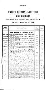 Bulletin des lois de la République franc̜aise: Numéros2801à2862