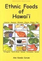 Ethnic Foods of Hawai  i PDF