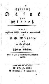 Ezopowy Basne pro Mladez (etc.)