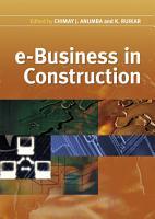 e Business in Construction PDF