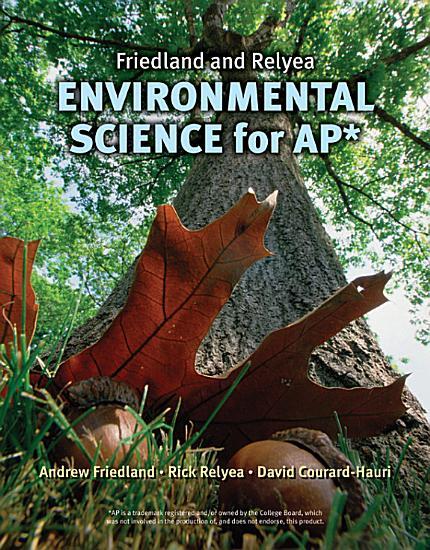 Friedland Relyea Environmental Science for AP  PDF