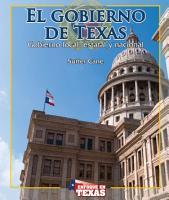 Gobernando a Texas  Governing Texas  PDF
