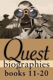 Quest Biographies Bundle — Books 11–20: William Lyon Mackenzie King / René Lévesque / Samuel de Champlain / John Grierson / Lucille Teasdale / Maurice Duplessis / David Thompson / Mazo de la Roche / Susanna Moodie / Gabrielle Roy
