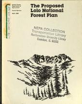Lolo National Forest (N.F.) Plan: Environmental Impact Statement