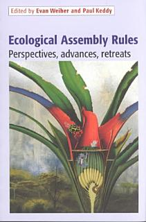 Ecological Assembly Rules Book